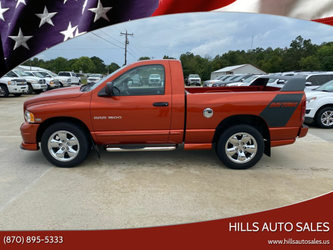 2005 Dodge Ram Pickup 1500 for sale at Hills Auto Sales in Salem AR
