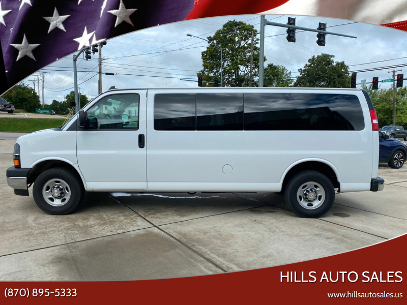 2019 Chevrolet Express Passenger for sale at Hills Auto Sales in Salem AR