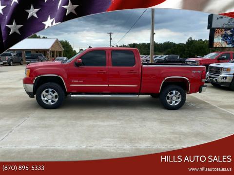2011 GMC Sierra 2500HD for sale at Hills Auto Sales in Salem AR