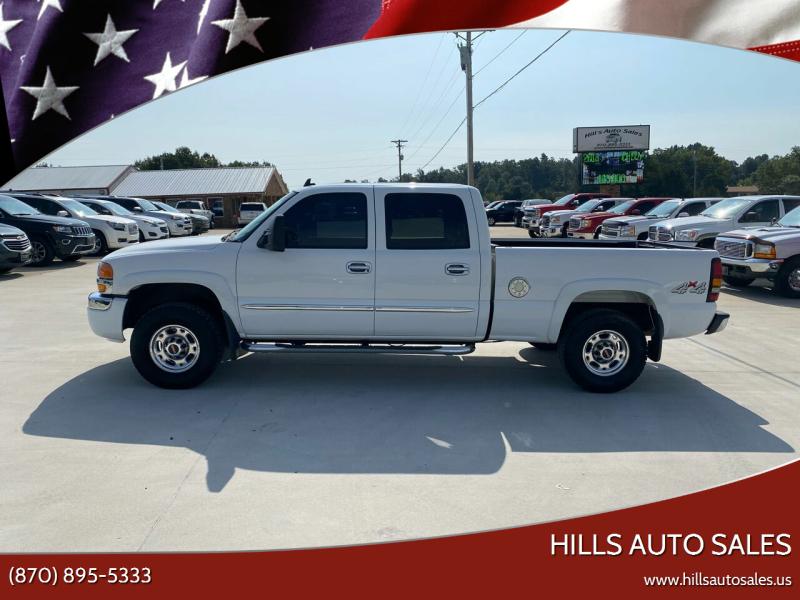 2006 GMC Sierra 1500HD for sale at Hills Auto Sales in Salem AR