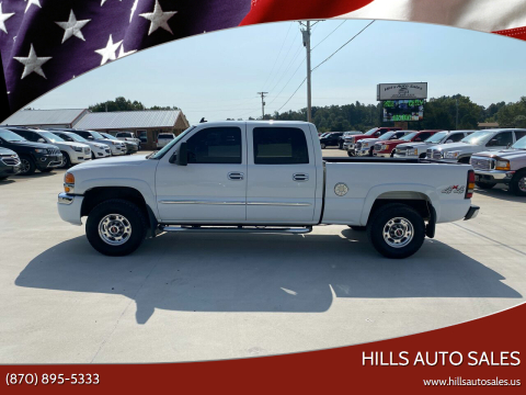 2006 GMC Sierra 1500HD for sale at Hills Auto Sales in Salem AR