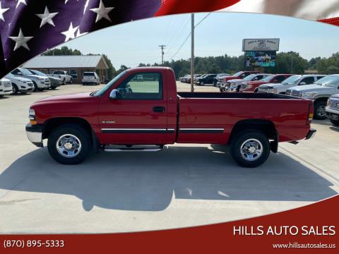 1999 Chevrolet Silverado 2500 for sale at Hills Auto Sales in Salem AR