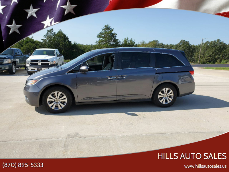 2016 Honda Odyssey for sale at Hills Auto Sales in Salem AR