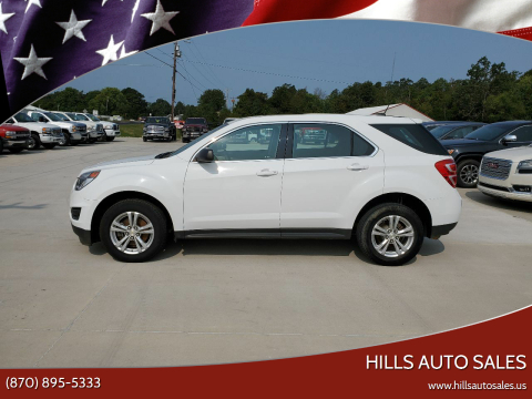 2017 Chevrolet Equinox for sale at Hills Auto Sales in Salem AR