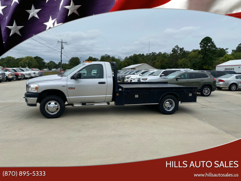 2007 Dodge Ram Chassis 3500 for sale at Hills Auto Sales in Salem AR