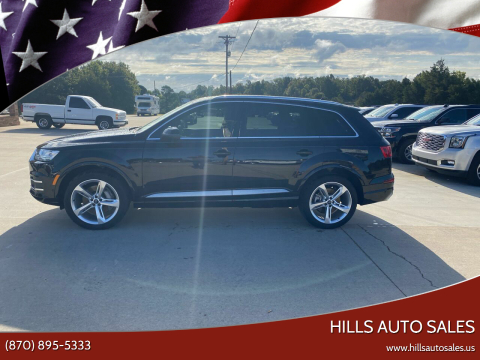 2019 Audi Q7 for sale at Hills Auto Sales in Salem AR