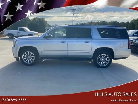 2019 GMC Yukon XL for sale at Hills Auto Sales in Salem AR