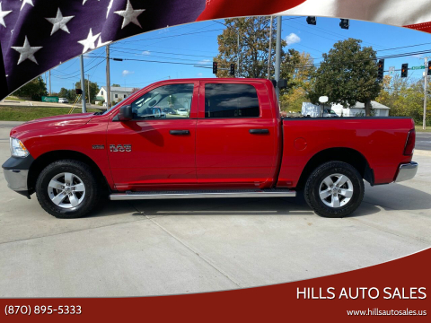 2018 RAM Ram Pickup 1500 for sale at Hills Auto Sales in Salem AR