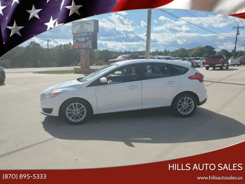2017 Ford Focus for sale at Hills Auto Sales in Salem AR