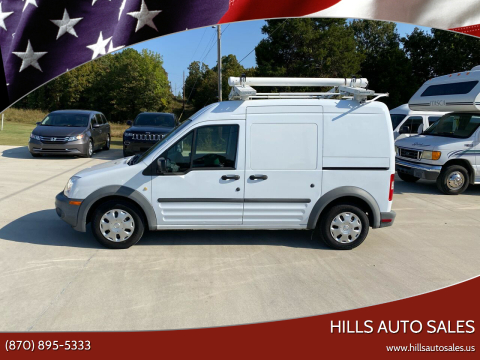 2013 Ford Transit Connect for sale at Hills Auto Sales in Salem AR