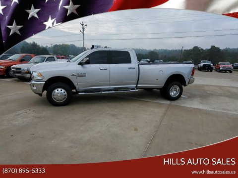 2017 RAM Ram Pickup 3500 for sale at Hills Auto Sales in Salem AR