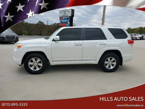 2013 Toyota 4Runner for sale at Hills Auto Sales in Salem AR