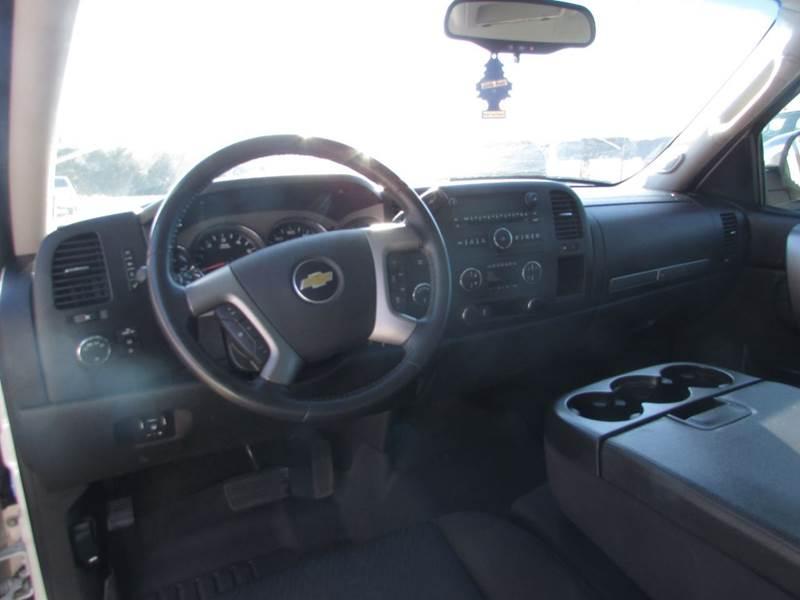 2012 Chevrolet Silverado 1500 4x4 LT 4dr Crew Cab 5.8 ft. SB - Salem AR