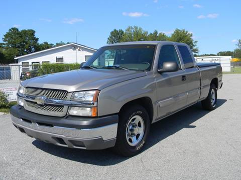 2003 Chevrolet Silverado 1500 for sale in Angier, NC