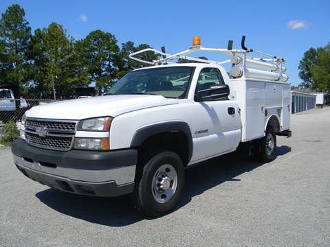 2005 Chevrolet Silverado 2500HD for sale in Angier, NC