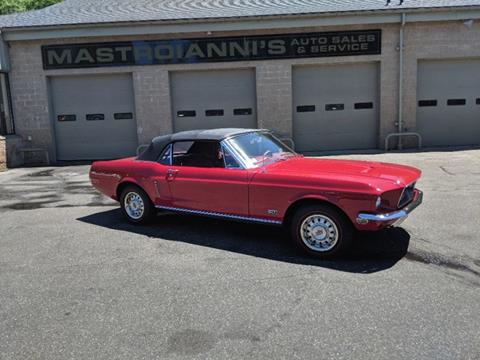 1968 Ford Mustang for sale in Palmer, MA