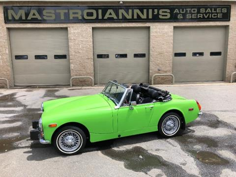 1974 MG Midget for sale in Palmer, MA