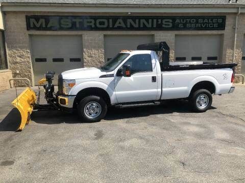 2016 Ford F-250 Super Duty for sale at Mastroianni Auto Sales in Palmer MA