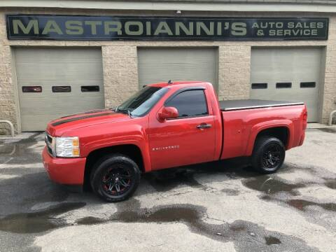 2007 Chevrolet Silverado 1500 for sale at Mastroianni Auto Sales in Palmer MA