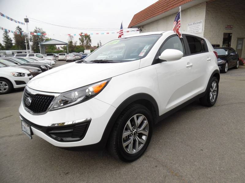 2016 KIA SPORTAGE LX 4DR SUV white need financing we can help call now call today call the of