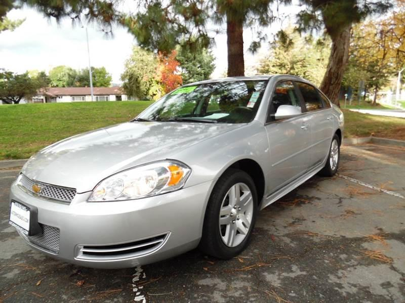 2012 CHEVROLET IMPALA LT FLEET 4DR SEDAN silver need financing we can help call now  call toda