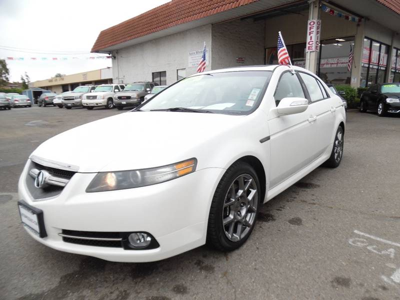 2008 ACURA TL TYPE S 4DR SEDAN 5A white need financing we can help call now call today call t