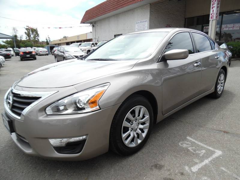2013 NISSAN ALTIMA 25 S 4DR SEDAN tan need financing we can help call now call today call th