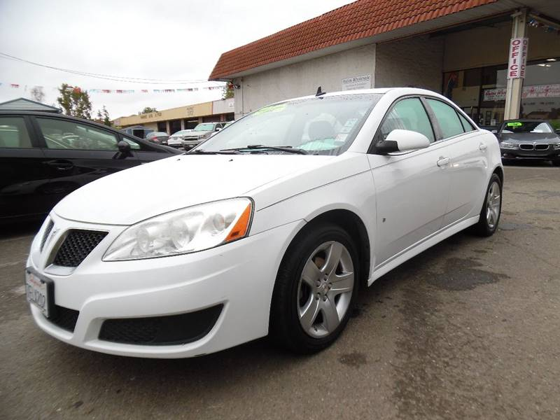2009 PONTIAC G6 BASE 4DR SEDAN W1SB white need financing we can help call now call today cal