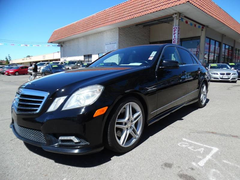 2011 MERCEDES-BENZ E-CLASS E 350 SPORT 4DR SEDAN black need financing we can help call now cal