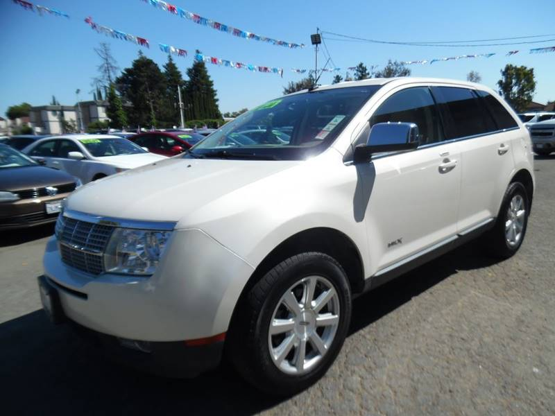 2007 LINCOLN MKX BASE 4DR SUV white need financing we can help call now call today call the o
