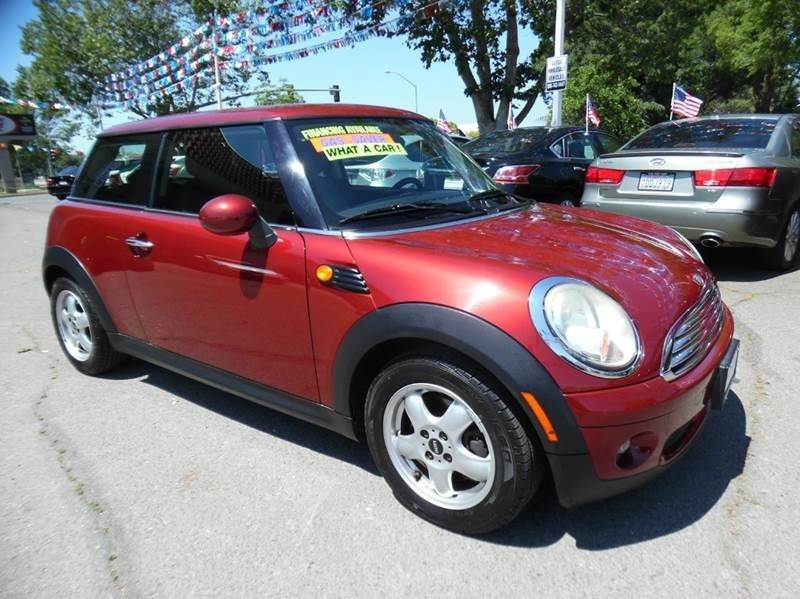 2007 MINI COOPER BASE 2DR HATCHBACK burgundy need financing we can help call now call today c