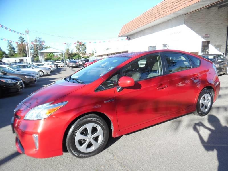 2014 TOYOTA PRIUS TWO 4DR HATCHBACK red need financing we can help call now call today call t