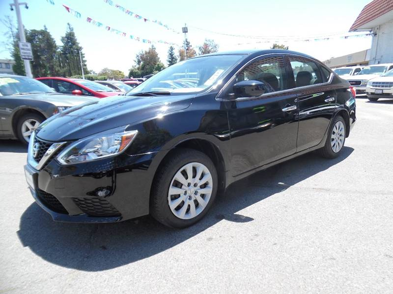 2016 NISSAN SENTRA S 4DR SEDAN CVT black need financing we can help call now call today call