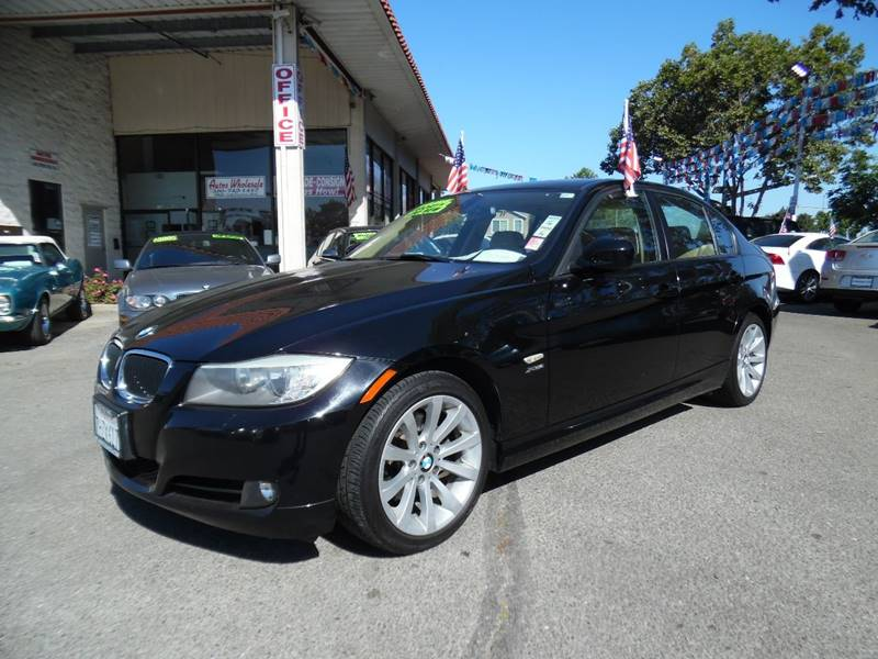 2011 BMW 3 SERIES 328I XDRIVE AWD 4DR SEDAN SULEV black need financing we can help call now ca