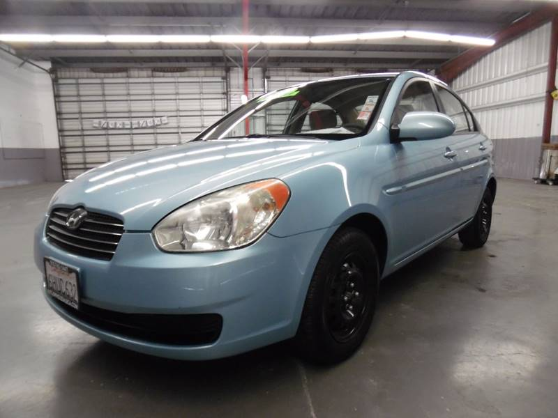2009 HYUNDAI ACCENT GLS 4DR SEDAN blue need financing we can help call now call today call th