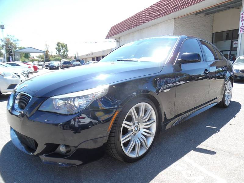 2008 BMW 5 SERIES 550I 4DR SEDAN LUXURY blue need financing we can help call now call today c