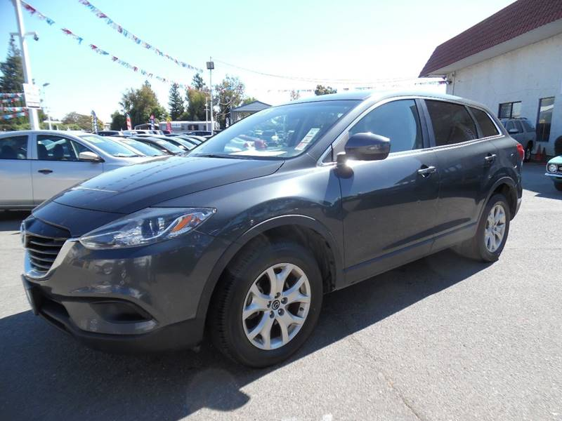 2015 MAZDA CX-9 SPORT 4DR SUV gray need financing we can help call now call today call the of