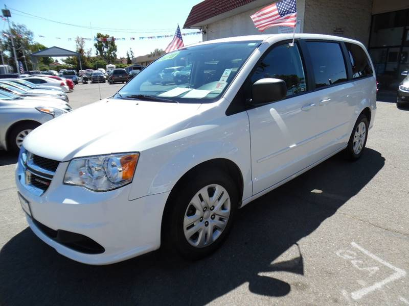 2015 DODGE GRAND CARAVAN SE 4DR MINI VAN white need financing we can help call now call today