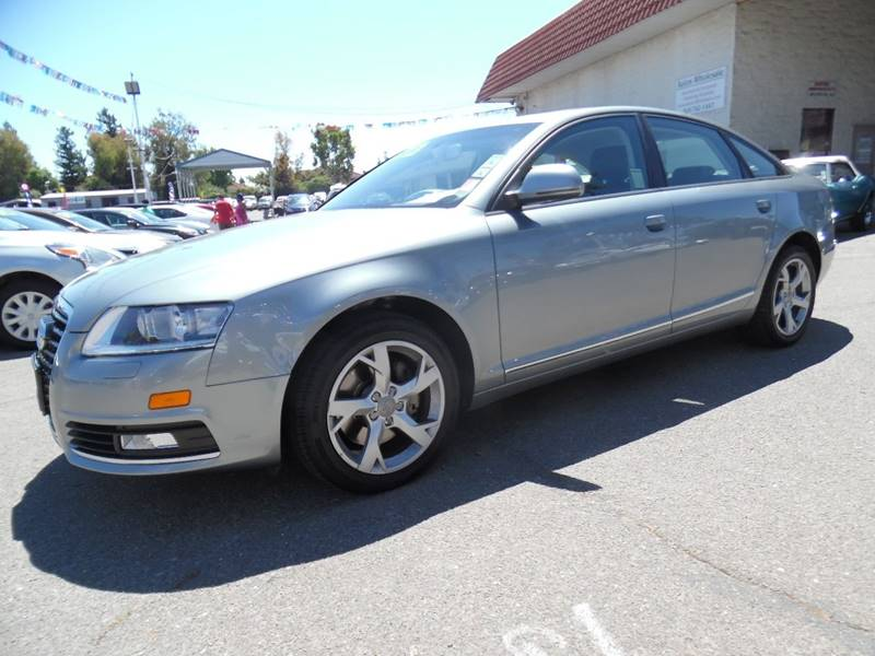 2009 AUDI A6 32 PREMIUM 4DR SEDAN gray need financing we can help call now call today call t