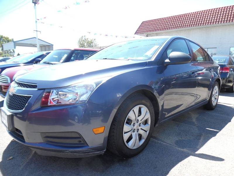 2013 CHEVROLET CRUZE LS AUTO 4DR SEDAN W1SB blue need financing we can help call now call tod