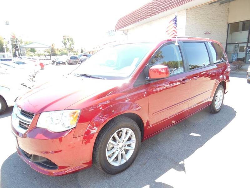 2015 DODGE GRAND CARAVAN SXT 4DR MINI VAN red need financing we can help call now call today