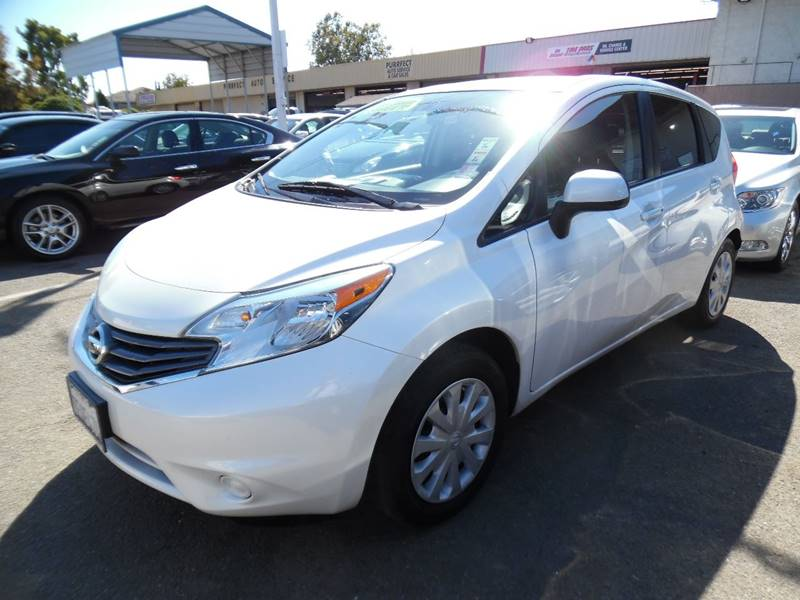 2014 NISSAN VERSA NOTE SV 4DR HATCHBACK white need financing we can help call now call today