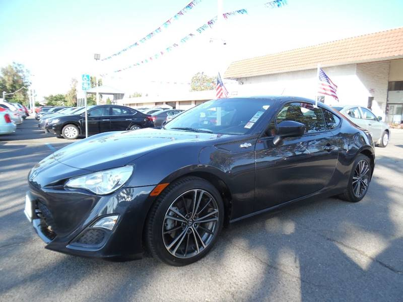 2014 SCION FR-S BASE 2DR COUPE 6A charcoal need financing we can help call now call today cal