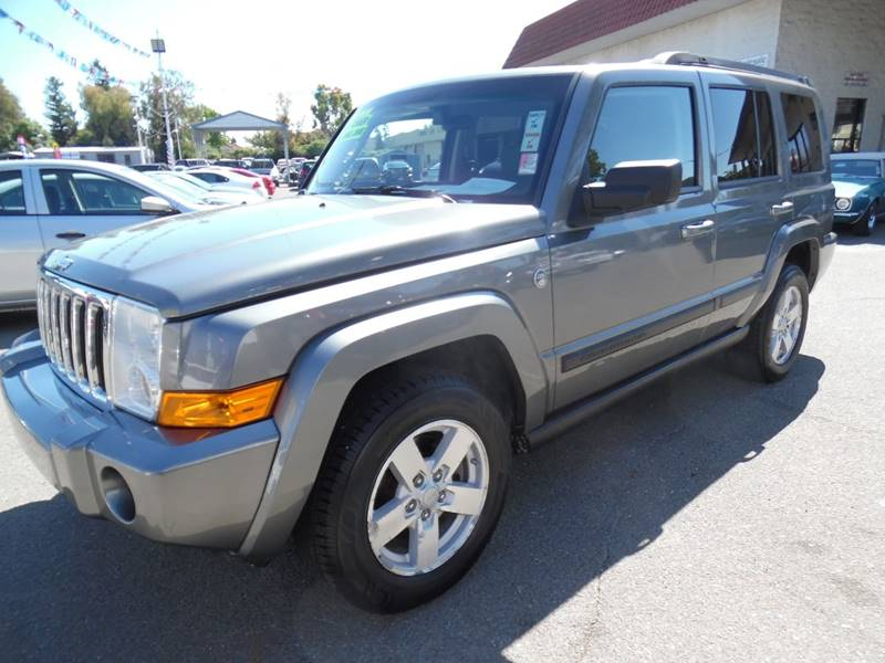 2007 JEEP COMMANDER SPORT 4DR SUV 4WD gray need financing we can help call now call today cal