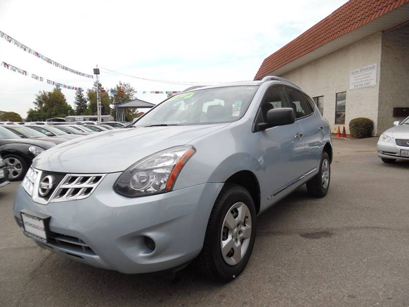 2015 NISSAN ROGUE SELECT S 4DR CROSSOVER blue need financing we can help call now call today