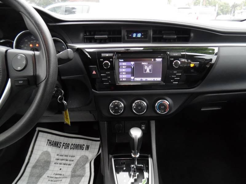 2016 Toyota Corolla LE 4dr Sedan - Fremont CA
