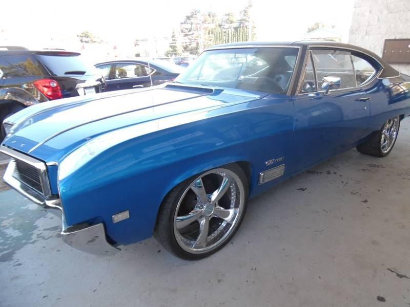 1968 BUICK SKYLARK GS 400 blue need financing we can help call now call today call the office