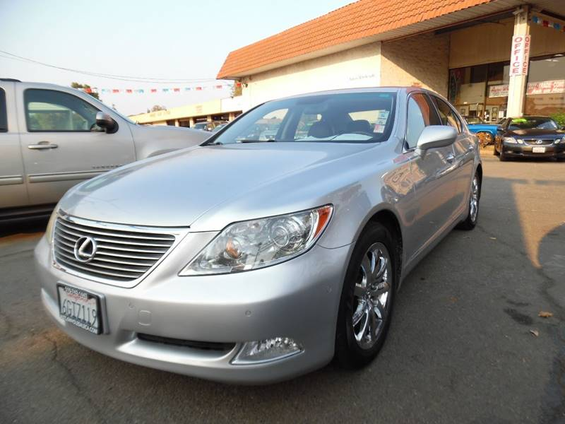 2008 LEXUS LS 460 BASE 4DR SEDAN silver need financing we can help call now call today call t