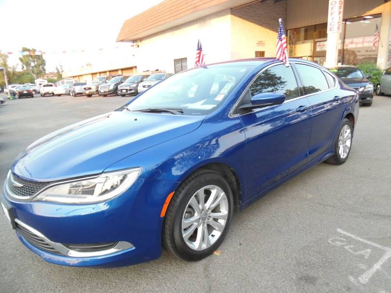 2015 CHRYSLER 200 LIMITED 4DR SEDAN blue need financing we can help call now call today call