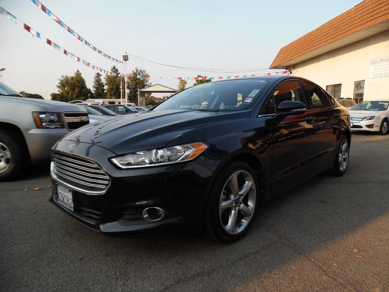 2013 FORD FUSION SE 4DR SEDAN black need financing we can help call now call today call the o